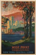 Vintage Travel Poster New York Central Lines